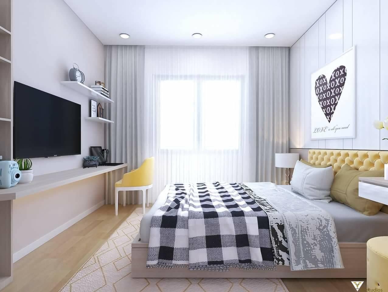 Thiết kế giường ngủ gỗ công nghiệp hiện đại cao cấp,qua quy trình sản xuất tiên tiến nên có thể đảm bảo được độ bền đẹp,tính năng sự dụng và vẻ đẹp thẩm mỹ của chúng .Giường ngủ làm bằng gỗ công nghiệp thường được thiết kế đơn giản,gọn nhẹ nhưng không kém phần độc đáo,hiện đại mang tới cho người dùng sự tiện nghi,thoải mái và thư giãn trong không gian phòng ngủ.Giường ngủ đa năng kết hợp với tủ quần áo..giường ngủ gỗ công nghiệp đang ngày càng chiếm được tình cảm của đông đạo khách hàng,nhất là những khách hàng trẻ tuổi.Giường ngủ gỗ công nghiệp không bị cong vênh,co gót trong quá trình sử dụng ,đây là đặc tính ưu việt mà không phải loại gỗ nào cũng có được,kể cả gỗ tự nhiên chất lượng.Nó cũng chính là một trong những ưu điểm vượt trội của dòng sản phẩm gỗ công nghiệp đẻ thu hút khách hàng