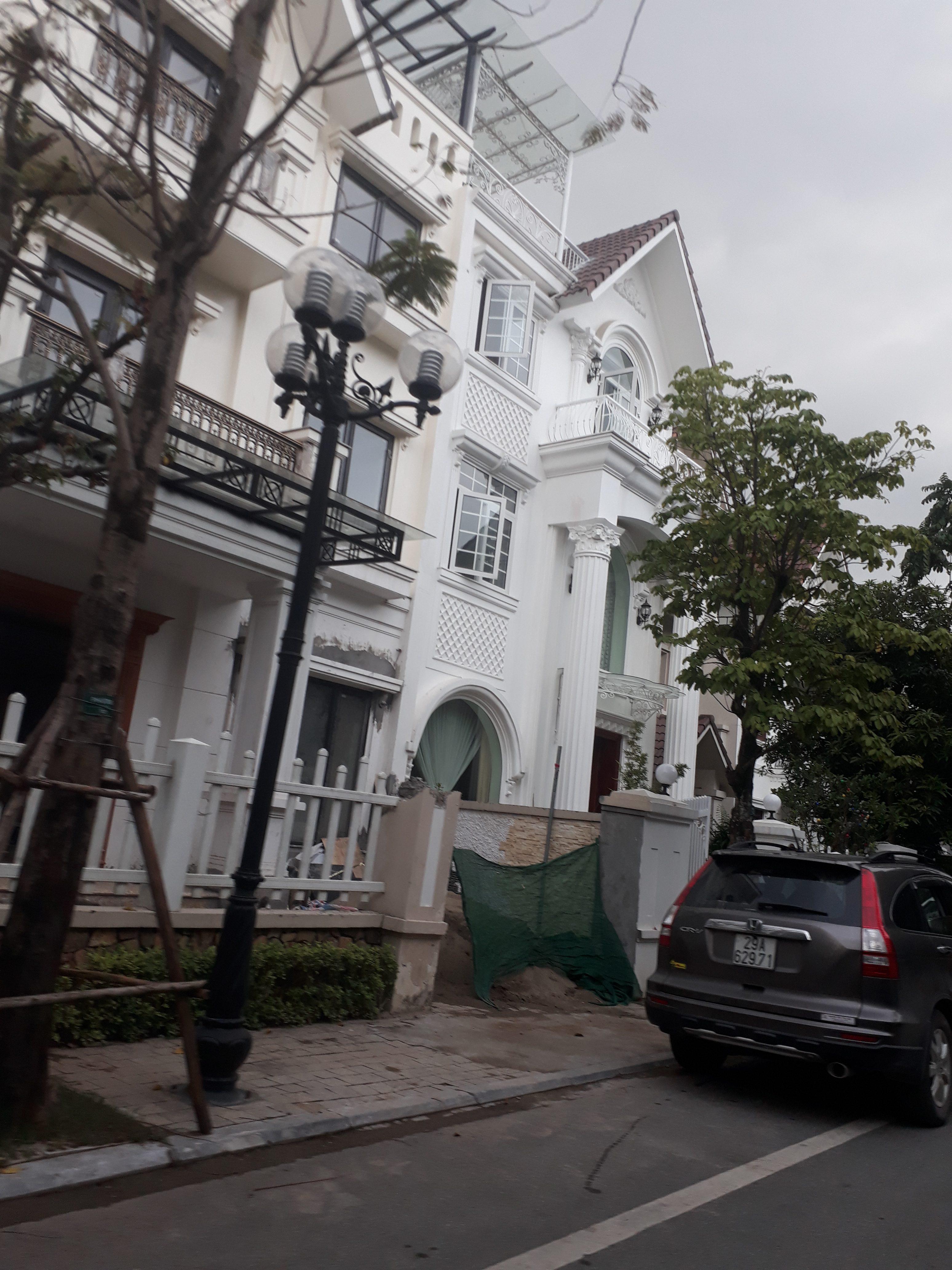 Thiết kế nội thất nhà anh Hùng tại biệt thự Vinhomes