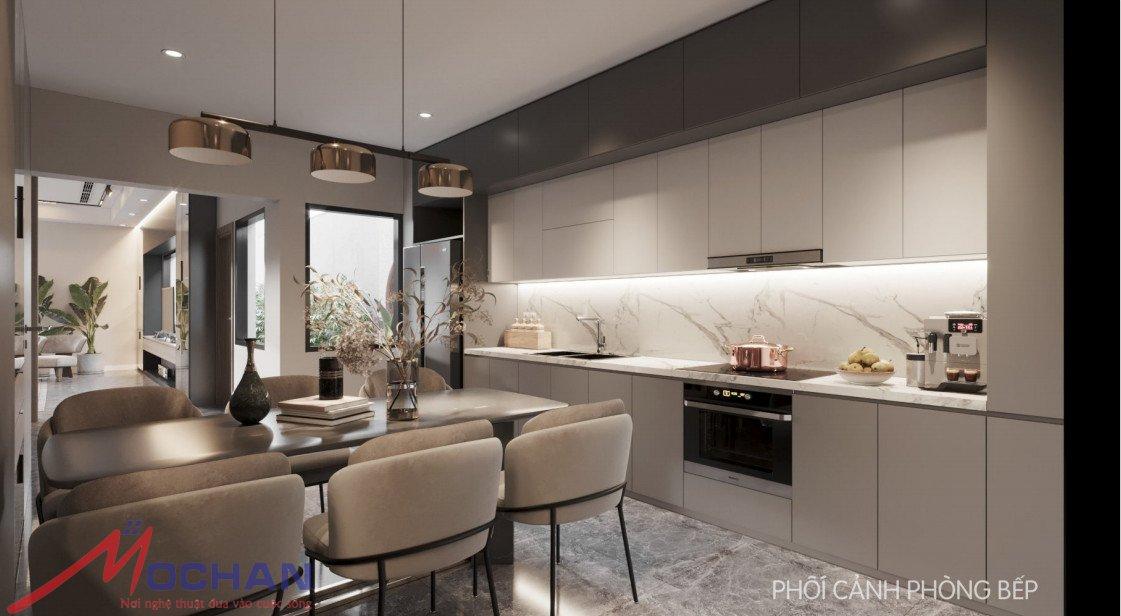 Phòng bếp- hướng nhìn 1