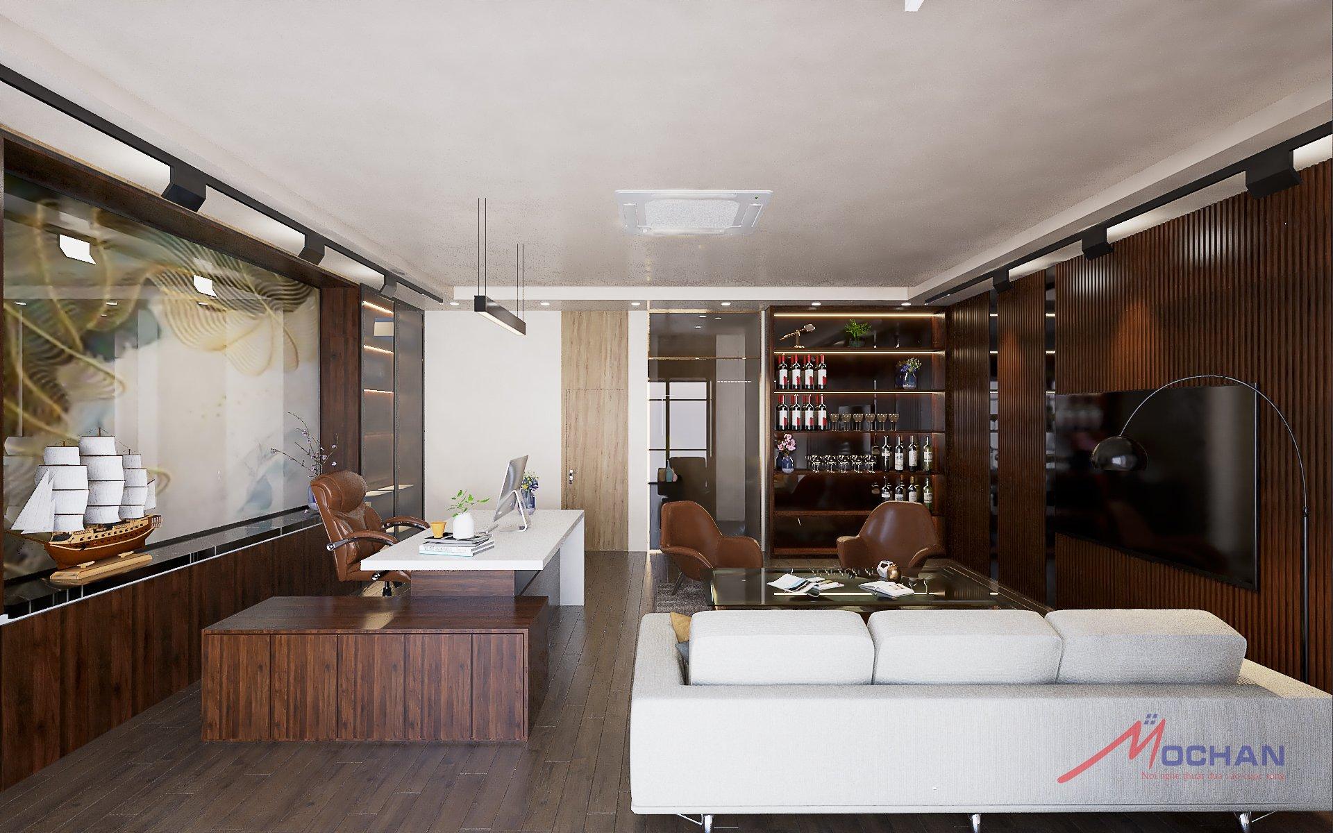 Thiết kế văn phòng 83 Hào Nam- Mộc Hân