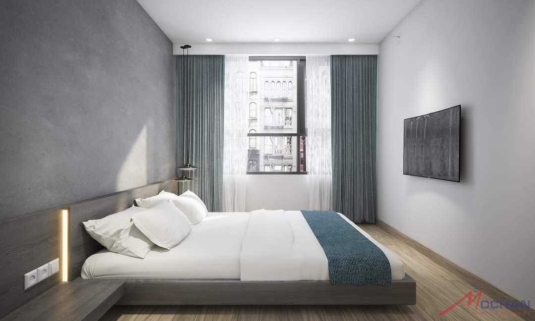 phòng ngủ- hướng nhìn 1