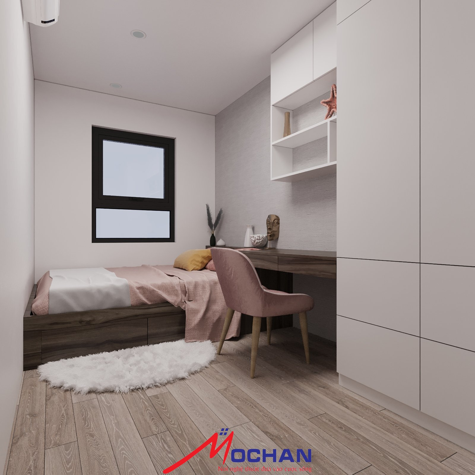 phòng ngủ con 2- hướng nhìn 3